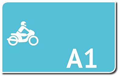 Leichtkrafträder: A1